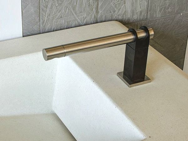 Picture of Sonoma Forge | Bathroom Faucet | Strap | Deck Mount | Hands Free