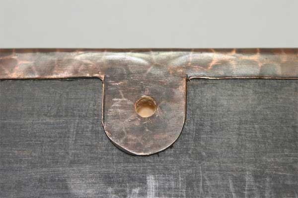 Picture of Rectangular Copper Mirror