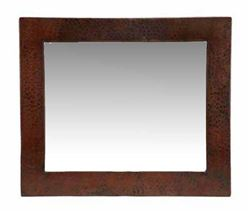 Picture of Rectangular Copper Mirror