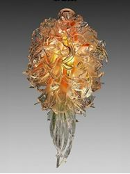 Picture of Abadin Blown Glass Chandelier