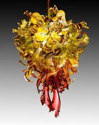 Nova Blown Glass Chandelier