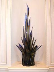 Sea Grass Blown Glass Sculpture