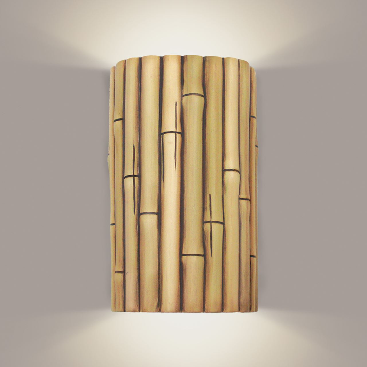 Picture of A19 Wall Sconce | Bamboo