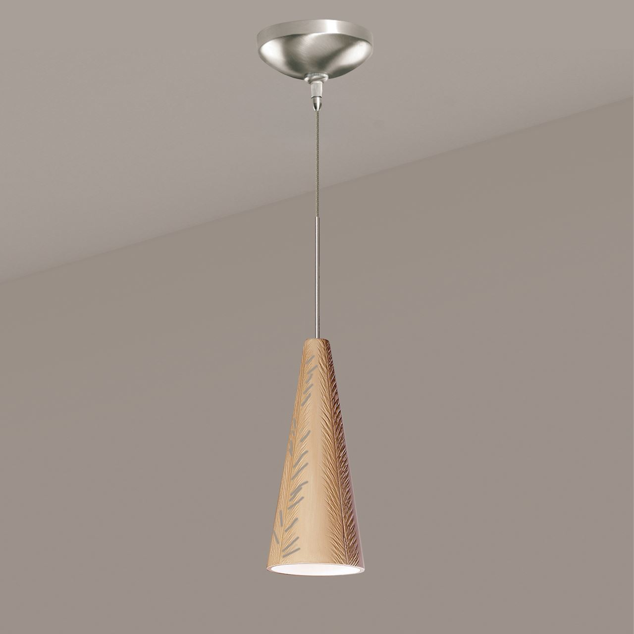 Picture of A19 Ceramic Pendant Light   Fossil