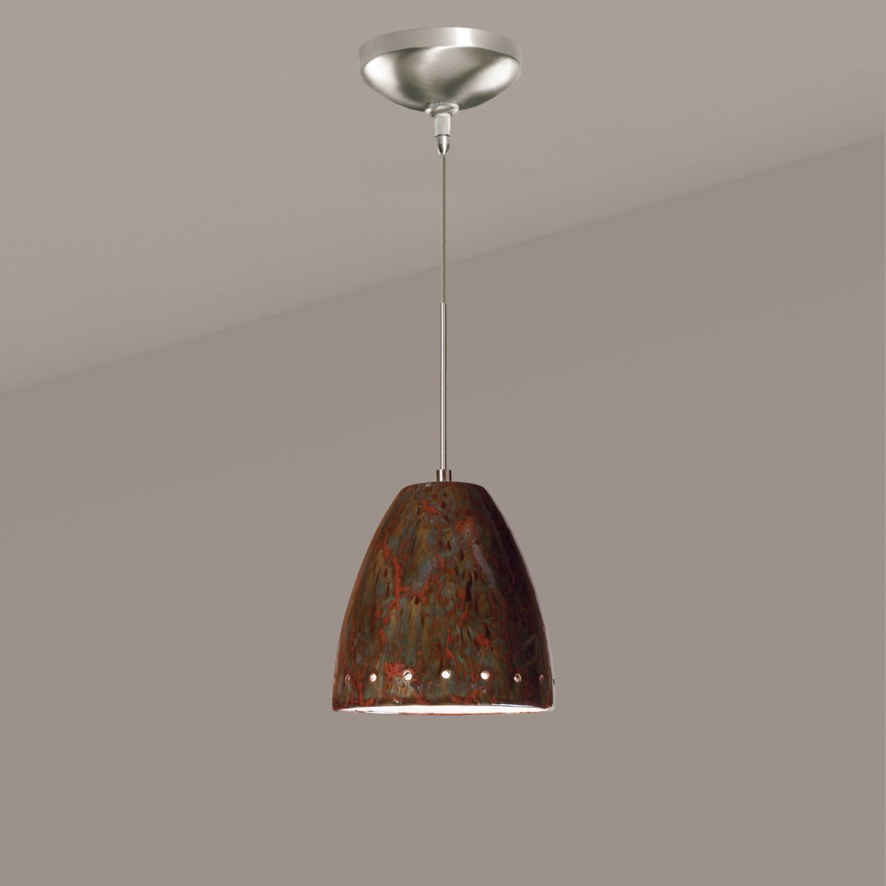 Picture of A19 Ceramic Pendant Light   Realm