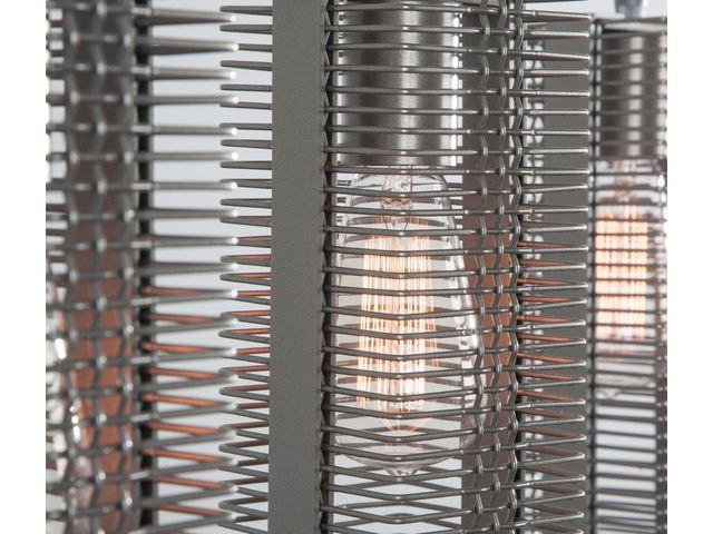 Picture of Linear Chandelier   Downtown Mesh 4