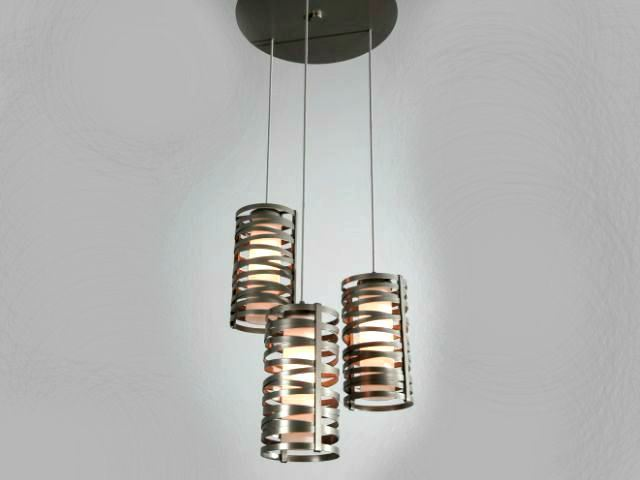 Picture of Tempest Round Waterfall Chandelier