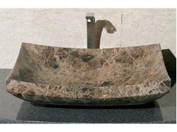 Zen Rectangular Stone Vessel Sink
