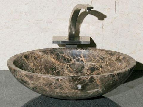 """18"""" Oval Stone Vessel Sink"""