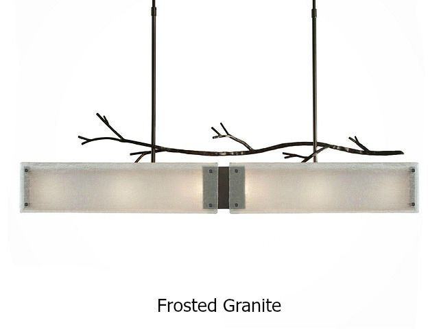 Picture of Linear Chandelier   Ironwood