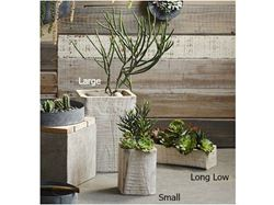Picture of Rustico Wood Planters