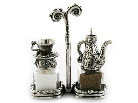 Tea Set Salt and Pepper Shakers