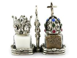 Royal Salt and Pepper Shakers Set