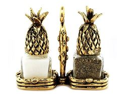 Pineapple Salt and Pepper Shakers Set