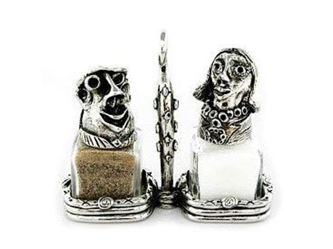 Man and Woman Salt and Pepper Shakers Set