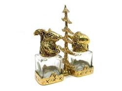 Acorn and Squirrel Salt and Pepper Shakers Set
