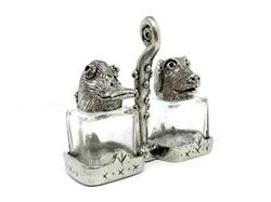 Picture of Duck and Retriever Salt and Pepper Shakers Set