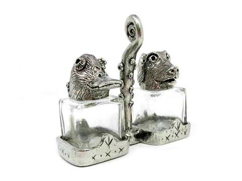 Duck and Retriever Salt and Pepper Shakers Set