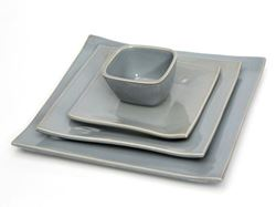 Square Dinnerware Collection by Alex Marshall Studios