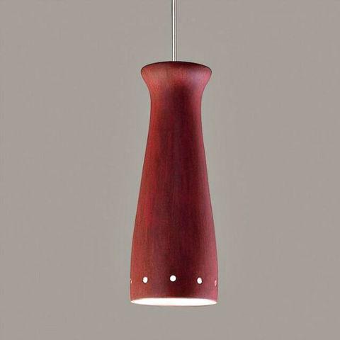 A19 Ceramic Pendant Light   Pilsner