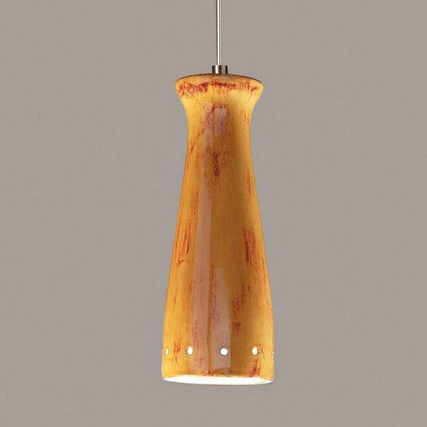 Picture of A19 Ceramic Pendant Light   Pilsner