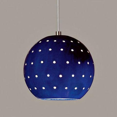A19 Ceramic Pendant Light | Lunar