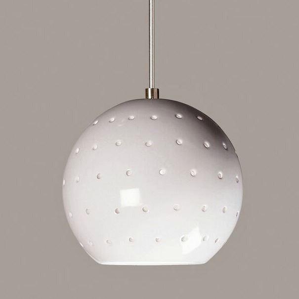 Picture of A19 Ceramic Pendant Light | Lunar