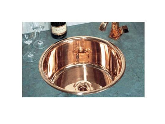 "Picture of John Day 17"" Round Metal Prep Sink"
