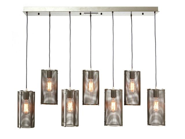 Picture of Linear Chandelier | Uptown Mesh