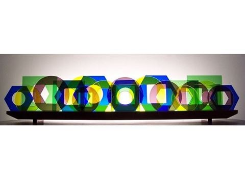 Windows Glasscape Lighting Sculpture