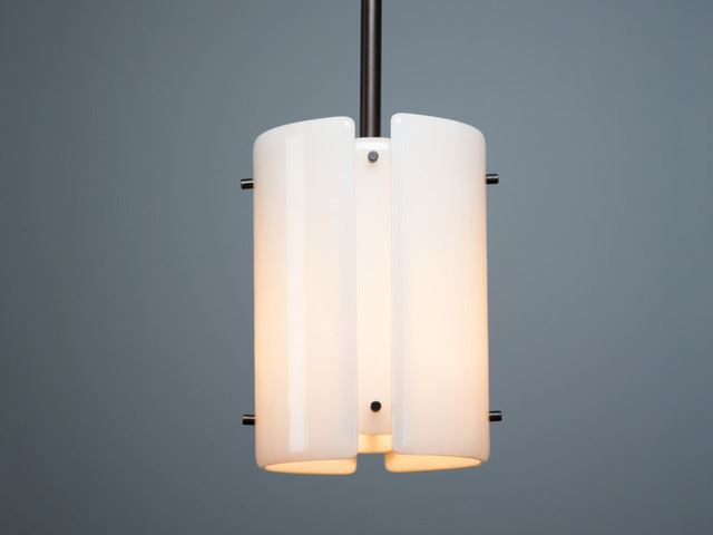 """Picture of Pendant Light   Textured Glass   8"""""""