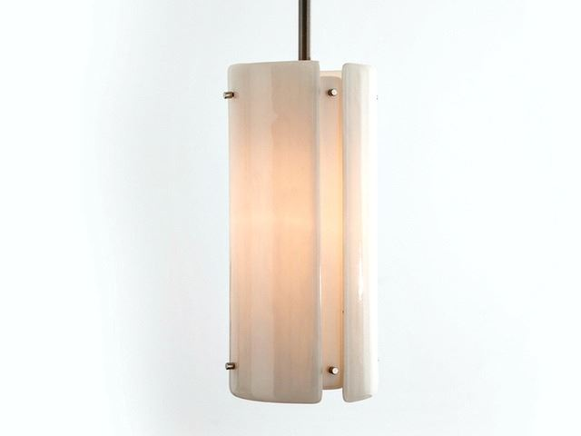 """Picture of Pendant Light   Textured Glass   12"""""""