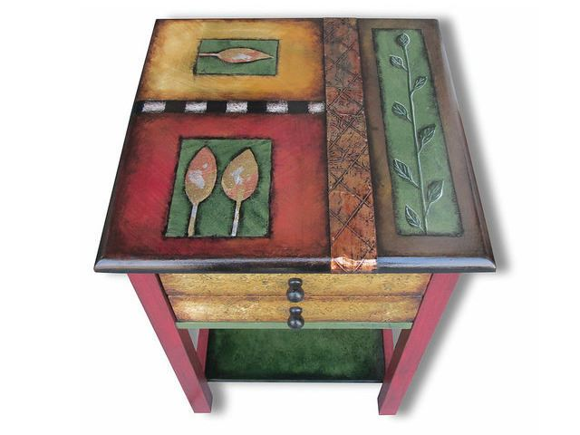 Picture of Hand Painted End Table 3