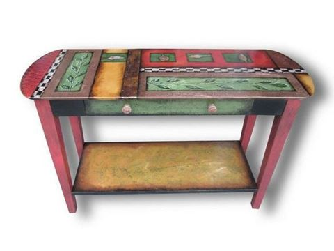 Hand Painted Sofa Table 1