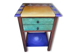 Hand Painted End Table 2