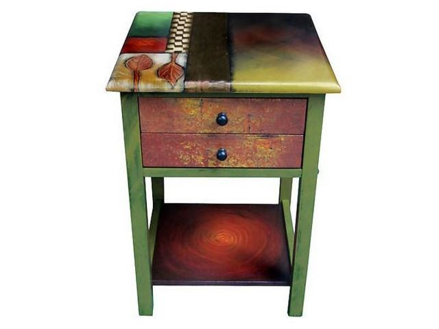Picture of Hand Painted End Table 4