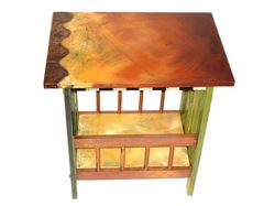 Picture of Hand Painted Magazine Rack
