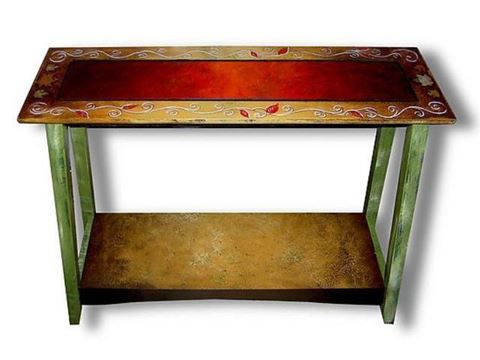 Hand Painted Sofa Table 3