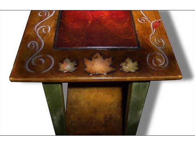Picture of Hand Painted Sofa Table 3