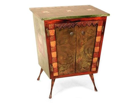 Hand Painted Cabinet 3