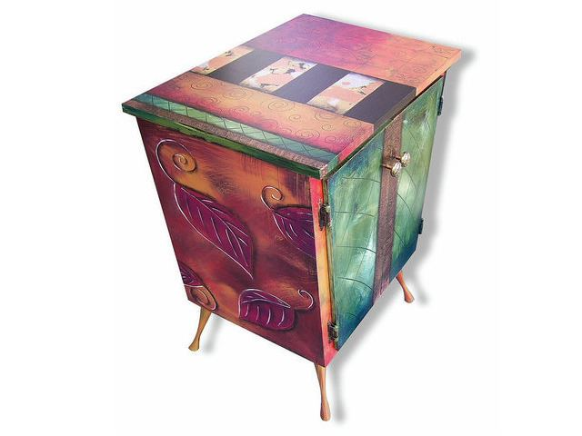 Picture of Hand Painted Cabinet 4