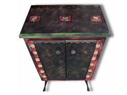Hand Painted Cabinet 2