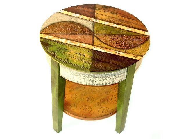 Picture of Hand Painted End Table 6
