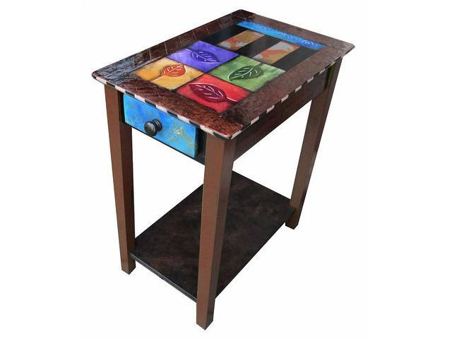 Picture of Hand Painted Side Table 6