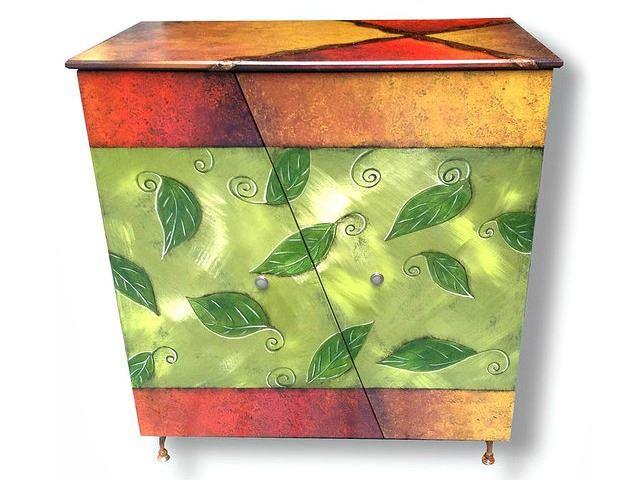 Picture of Hand Painted Cabinet 1