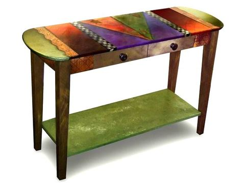 Hand Painted Sofa Table 2