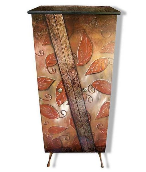 Picture of Tall Hand Painted Cabinet 1