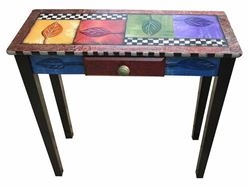 Hand Painted Entry Table 2