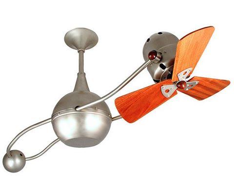 Brisa 2000 Ceiling Fan in Brushed Nickel