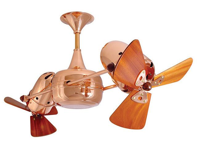 Picture of Duplo-Dinamico Ceiling Fan in Polished Copper